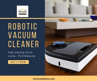 Pre Made Website - Robotic Vacuums